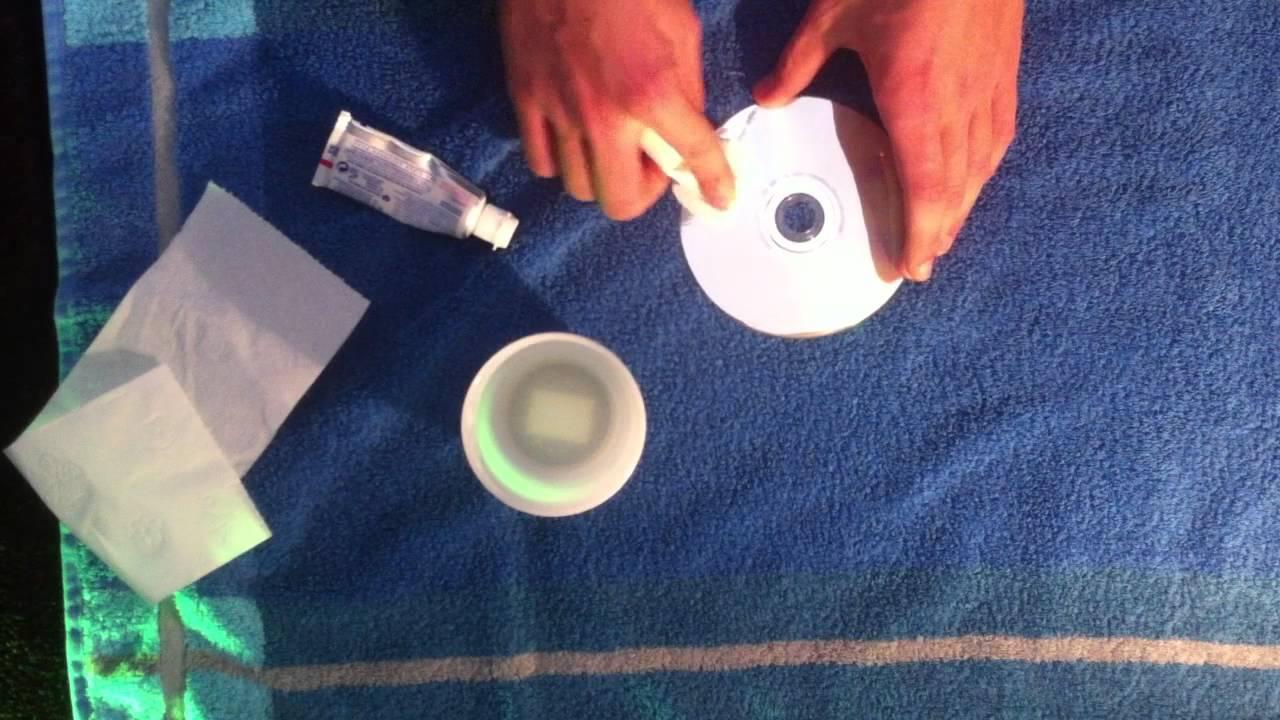zerkratzte cd reparieren zahnpasta trick cd retten youtube. Black Bedroom Furniture Sets. Home Design Ideas