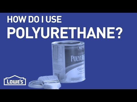 How Do I Use Polyurethane?   DIY Basics