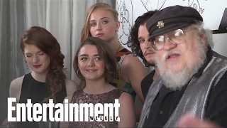 'Game of Thrones' Cast And Author George R.R. Martin at Comic-Con | Entertainment Weekly