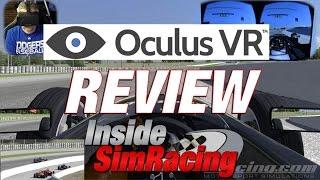 Oculus Rift DK2 Inside Sim Racing Review