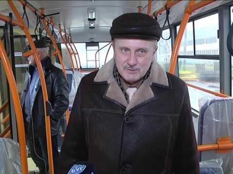 2017-02-23 г. Брест. Пополнение в троллейбусном парке. Новости на Буг-ТВ.