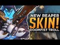Overwatch: New Reaper Skin! - DOOMFIST Troll - Hero Prototypes