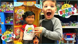 Toy Shopping at Walmart For Ryan Toys Review Toys! Toy Hunt For Ryans World  Ryan Doll!