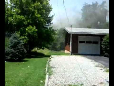 House fire in Collinsville Illinois