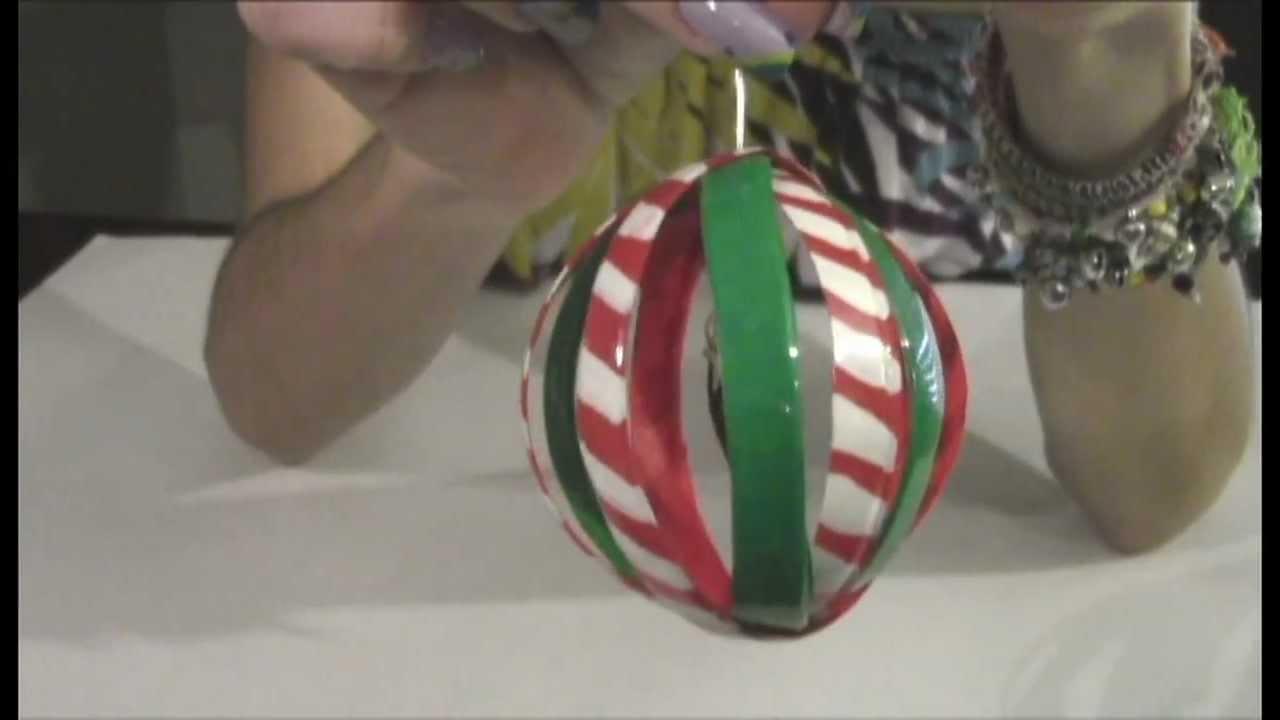 Tutorial reciclaje esfera para el rbol de navidad youtube - Arboles de navidad de diseno ...
