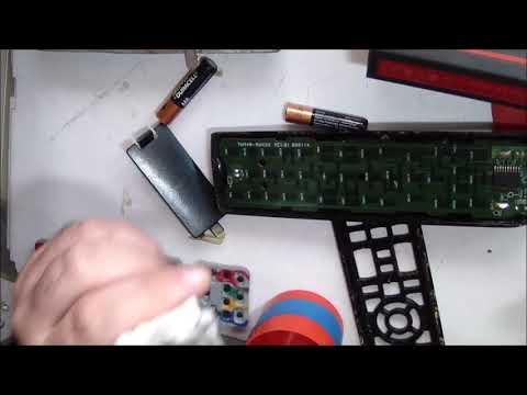 smontaggio e pulizia telecomando tv Samsung how to clean Samsung tv  remote control
