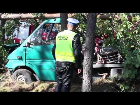 Wypadek na drodze krajowej nr 20 koło Gwdy