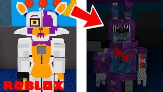 Finding All of The Secret Animatronics in Roblox FNAF Captain Lolbit