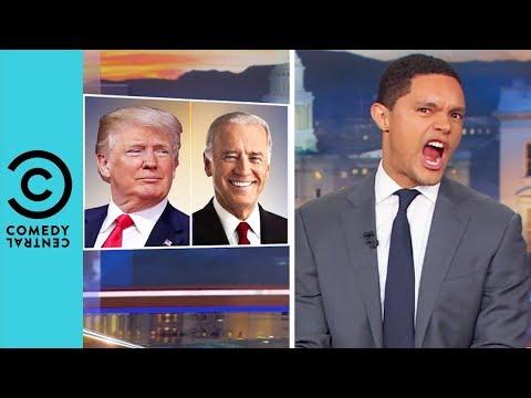 Donald Trump Vs Joe Biden: Schoolyard Beef | The Daily Show With Trevor Noah