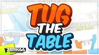 SIMON'S EXCUSES | Tug The Table (with Simon)