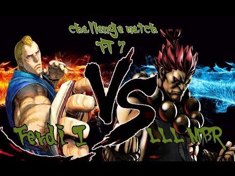 Challenge Match FT7  Ferdi I [Abel] vs LLL RSD MBR [Akuma] SSF4AE