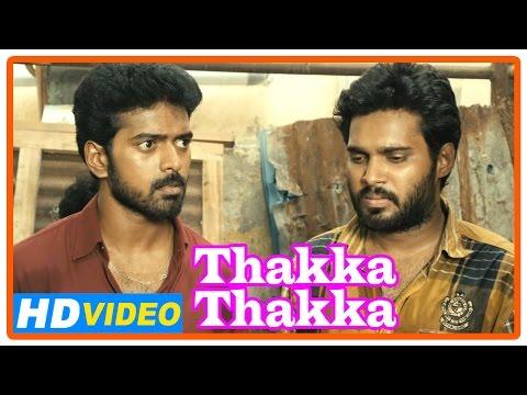Thakka Thakka Tamil Movie | Scenes | Aravinnd Is Threatened By Goons | Vikranth | Abhinaya