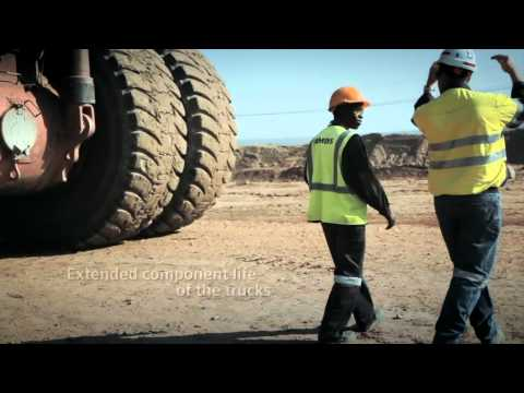 Lumawan Copper Mine Zambia - Truck Trolley System and Gearless Mill Drives