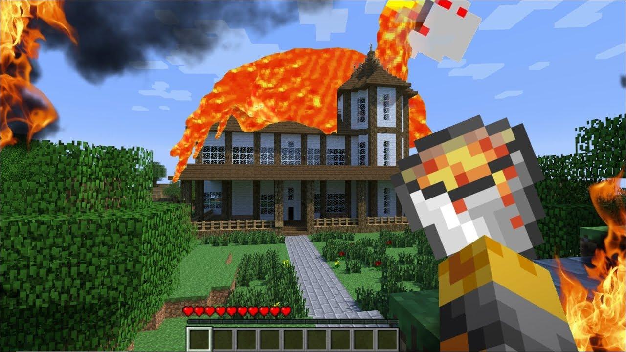 Minecraft PRANK WARS WITH MARK OUR FRIENDLY ZOMBIE HOUSE !! Minecraft Mods