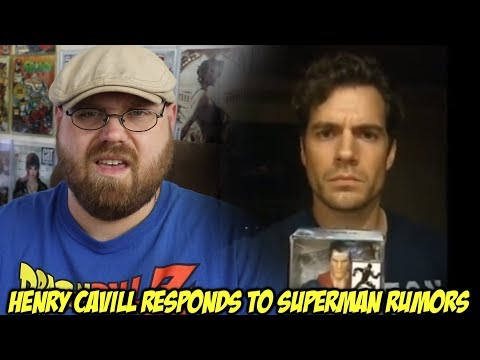 Henry Cavill Responds to Superman Rumors!!!