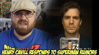 Henry Cavill Responds to Superman Rumors!!!