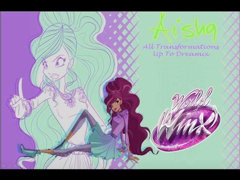 Winx Club- Aisha/Layla All Live Action Transformations
