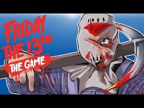 Friday The 13th Beta - SackHead Jason! (Glitches!) JasonNado, Flying Car, Tentlirious!