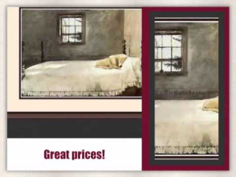 Andrew Wyeth Framed Art Master Bedroom Free Shipping Gallerydirectart Com