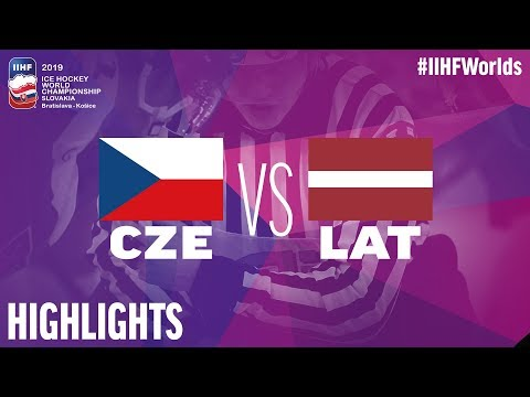 Czech Republic Vs. Latvia - Game Highlights - #IIHFWorlds 2019