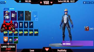 YAR's 1st YouTube Video! RAREST Fortnite Locker Showcase! ALL 10 Exclusive skins and over 300 more!