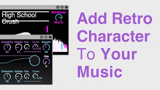 Add Retro Character To Your Music With College Dropout And High School Crush