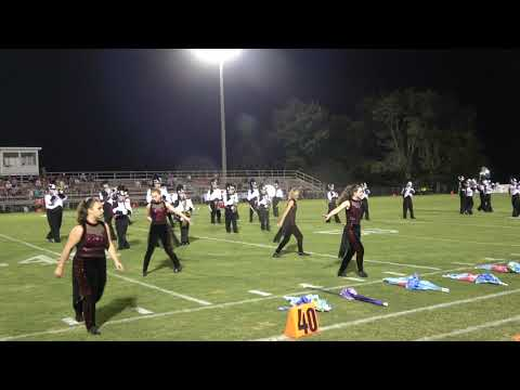 Elkmont High School Marching Band - 9-13-19 at West Limestone H.S.