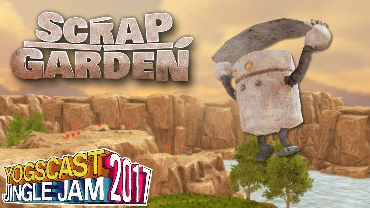 Yogscast Jingle Jam 2017 Calendar - Day 10 - Scrap Garden - YouTube