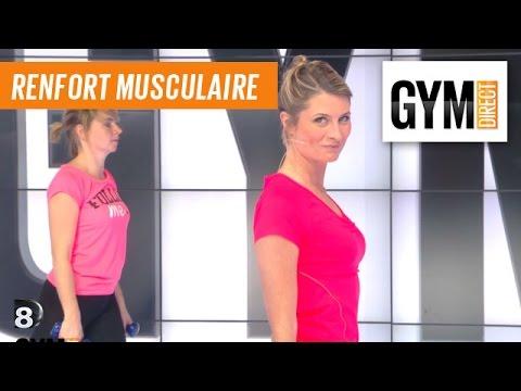 Renforcement avec haltères - Renforcement musculaire - 199 - YouTube