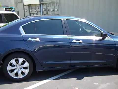 2010 Honda Accord Tinted By Flying Window Tinters In