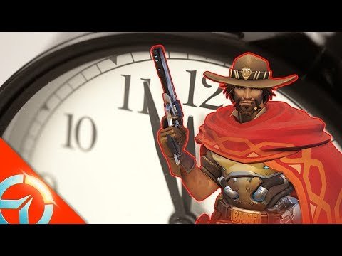 Fastest Graviton Surge In A Ranked Game   50 Shades Of High Noon   Overwatch Random Gameplay