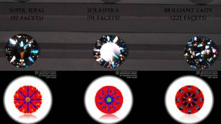 Repeat youtube video JannPaul Educaton: Higher Faceted Diamonds vs Lower Faceted Diamonds