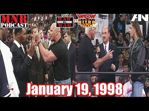 Monday Night Rewind Podcast - January 19, 1998 - WWF RAW & WCW Nitro - #26