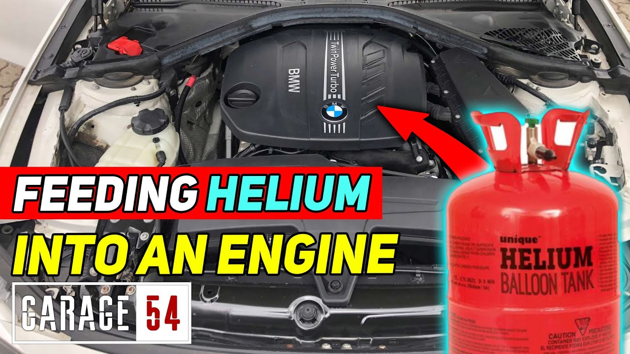 Will helium change how an engine sounds?