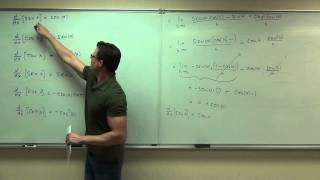 Calculus 1 Lecture 2.5:   Finding Derivatives of Trigonometric Functions