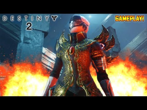 DESTINY 2 BETA GAMEPLAY LIVE - HUNTING FOR EXOTICS AND ARMOR!!! (Destiny 2 Gameplay)