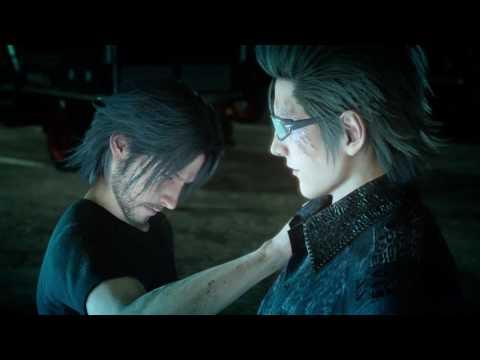 Final Fantasy XV - Finale - Reunited - Last Meal - Ifrit Boss Battle - Final Battle - Ending Scene