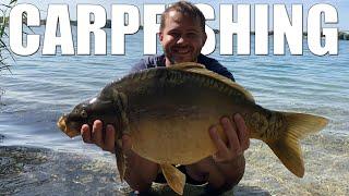 Карпфишинг в Словакии рыбалка на диком карьерном озере в Европе Carpfishing slovakia