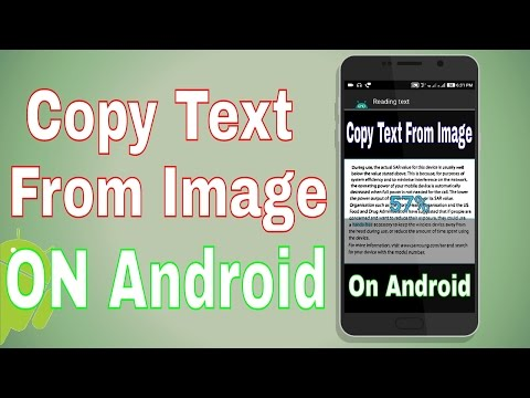 How To Copy Text From Image On Android