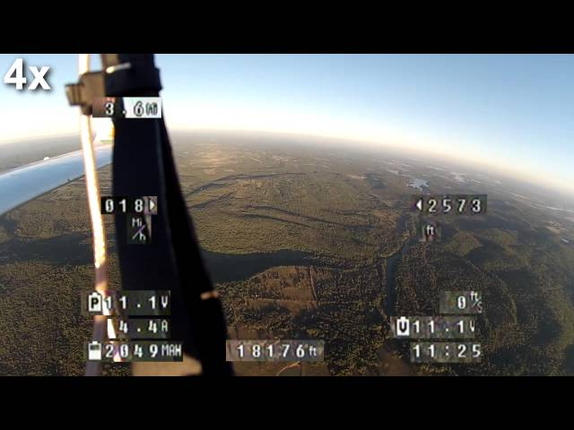 Bixler 2 FPV - 4 Mi / 6.5Km Flight
