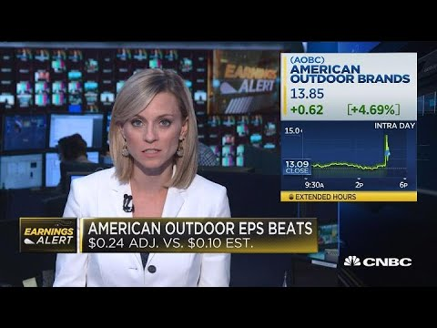 Gun Maker American Outdoor Brands Jumps On Strong Earnings Beat