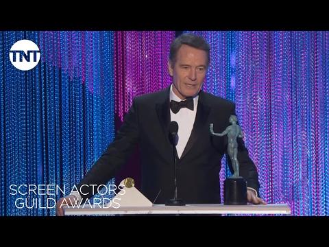 Bryan Cranston: Acceptance Speech | 23rd Annual SAG Awards | TNT