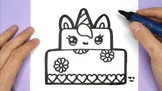 In this video, you will learn how to draw and color a cute unicorn ...