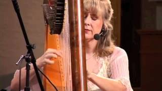 Titanic Theme (My Heart Will Go On) on harp - MP4 performed  by Victoria Lynn Schultz
