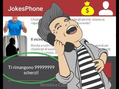 Scherzi Infiniti JokesPhone FUNZIONANTE - Infinity JokesPhone Jokes WORKING