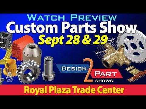Contract Manufacturing Show - Marlborough MA - Design 2 Part Show