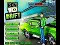 Ben 10 Drift Car Racing Games - games for kids