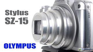 olympus Stylus SZ-15: обзор фотоаппарата