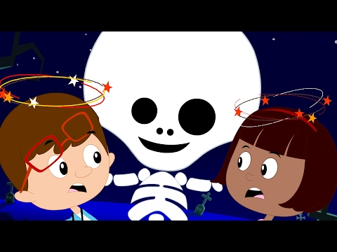 Happy Halloween Songs | There Is A Scary Pumpkin | Nursery Rhyme For Toddlers