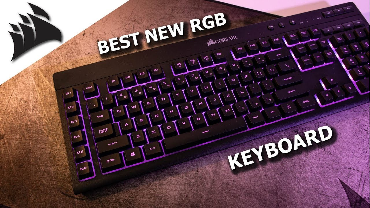 Corsair K57 Rgb Wireless Review Corsair Slipstream And Capellix Rgb Leds Youtube